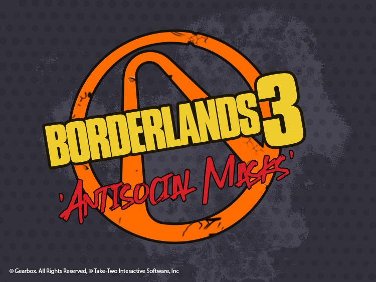 Borderlands face masks