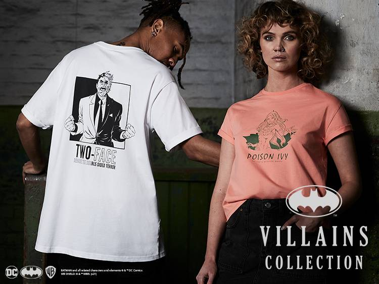 DC VILLAINS COLLECTIE