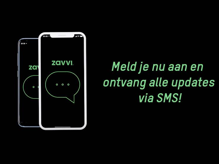 Registreer om ons nieuws per SMS te ontvangen