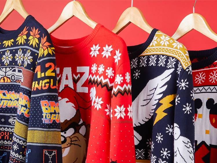 Knitted Christmas Sweaters