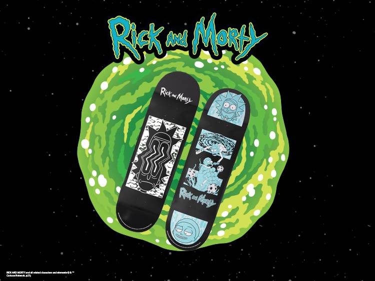 RICK AND MORTY Dust