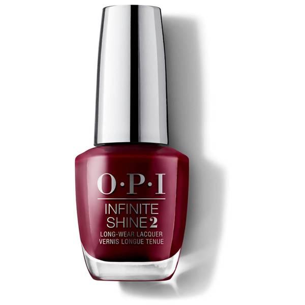OPI Infinite Shine Malaga Wine Nail Varnish 15ml