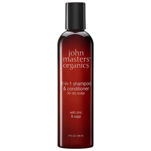 John Masters Organics 2-in-1 Shampoo & Conditioner with Zinc & Sage