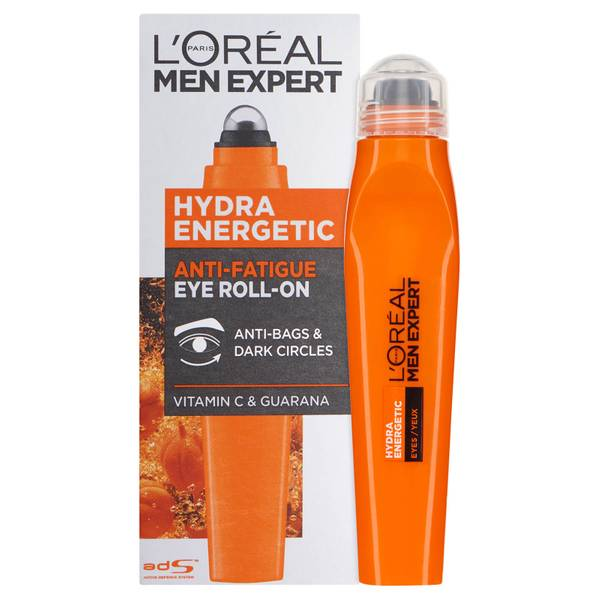 Roll-On Refrescante para Olhos Men Expert Hydra Energetic da L'Oréal (10 ml)