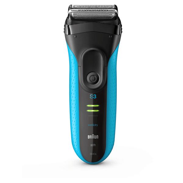 Braun Series 3 ProSkin 3040s Electric Shaver, Blue