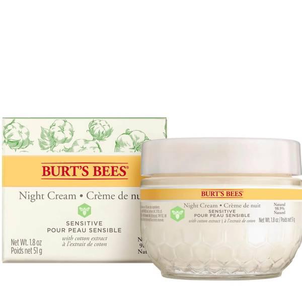 Burt's Bees センシティブ ナイト クリーム 50g