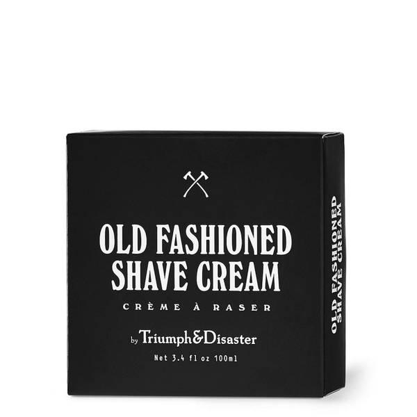 Crème à raser à l'ancienne Triumph & Disaster en pot de 100 ml
