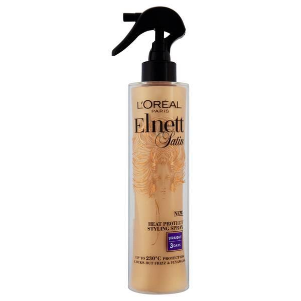 Spray termoprotector L'Oréal Paris Elnett Satin - Liso (170ml)