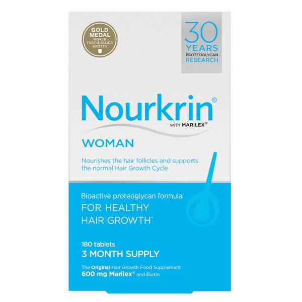 Nourkrin Woman - 3 Month Supply (180 Tablets)
