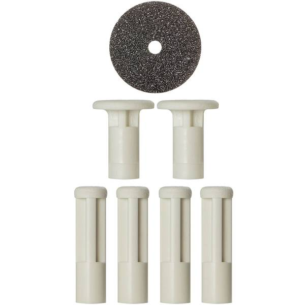PMD Mixed White Replacement Discs - 6 Pack