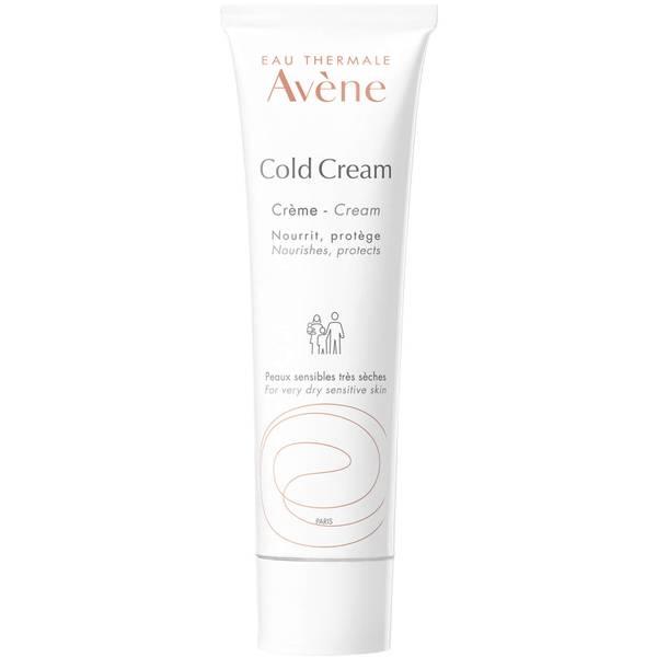 Avène Cold Cream Nourishing Protective Cream Moisturiser for Dry, Sensitive Skin 100ml