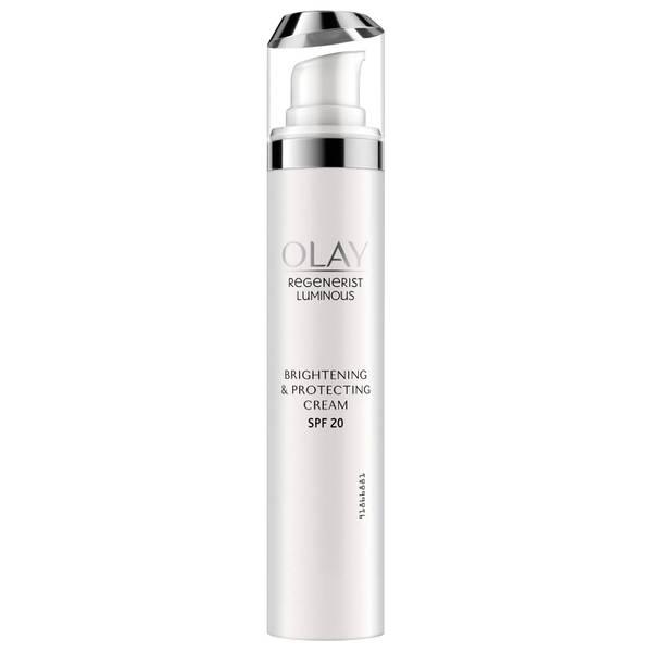 Olay Regenerist Luminous SPF20 Moisturiser with Niacinamide for Glowing Skin 50ml