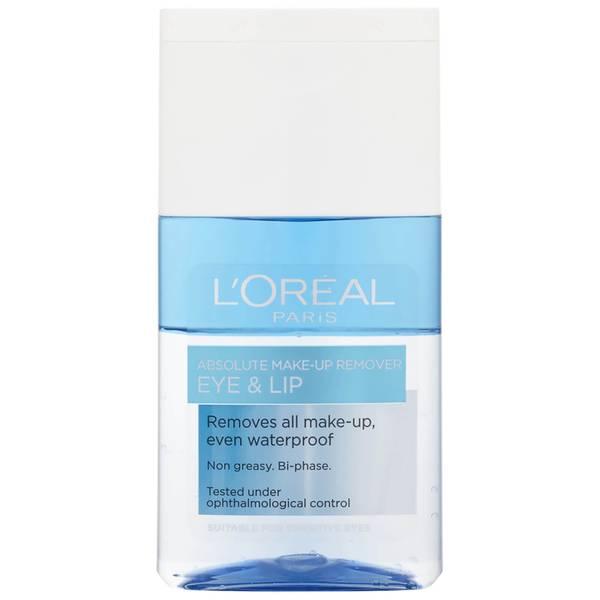 Desmaquillante de ojos y labiosAbsolute Eye and Lip Make-Up Remover de L'Oreal Paris 125 ml