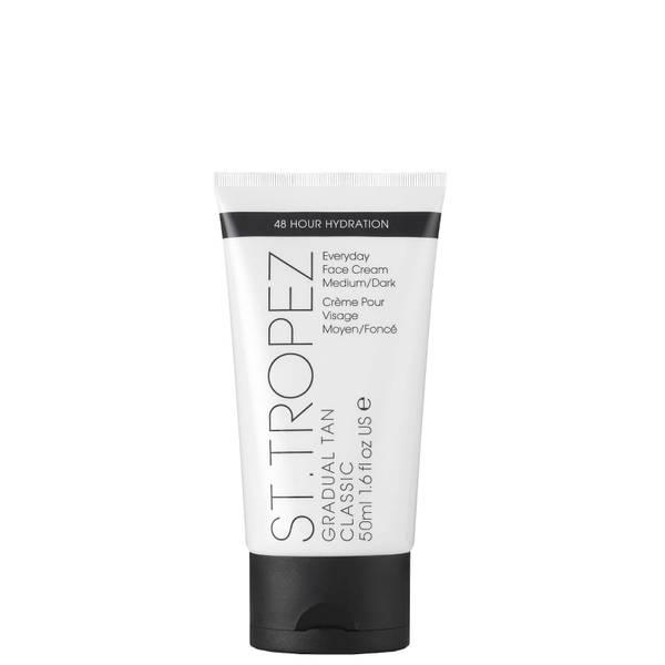 St. Tropez lozione autoabbronzante classica graduale per il viso - media/scura (50 ml)