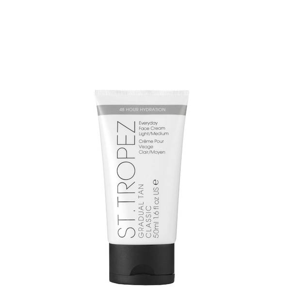 St. Tropez lozione autoabbronzante graduale classica per il viso - chiara/media (50 ml)