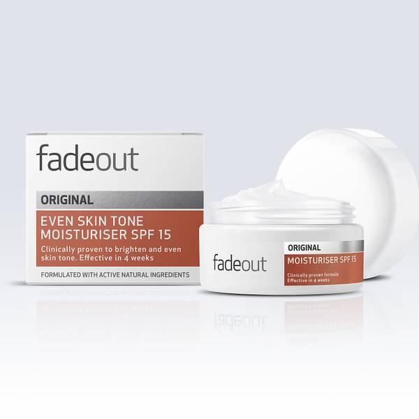 Creme Hidratante com FPS 15 ORIGINAL Even Skin Tone da Fade Out 50 ml