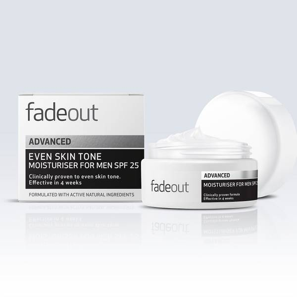 Fade Out Advanced Brightening Moisturiser for Men SPF20 50ml