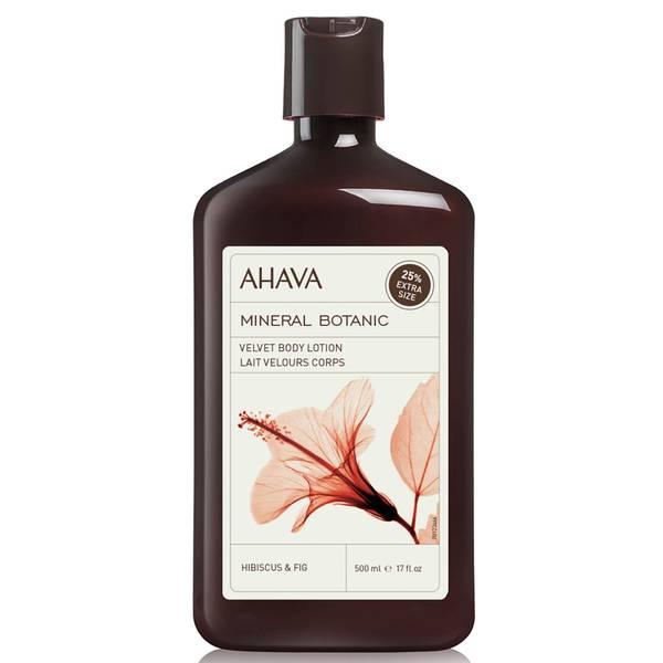 AHAVA Mineral Botanic lozione per il corpo vellutata - ibisco e fico