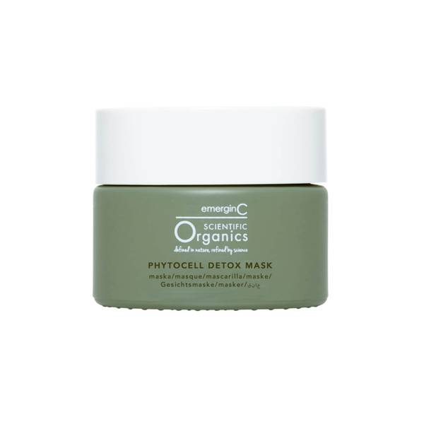 EmerginC Scientific Organics Phytocell Detox Mask 50ml