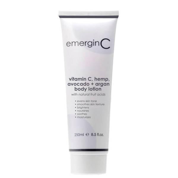EmerginC Vitamin C, Hemp, Avocado and Argan Body Lotion 250ml