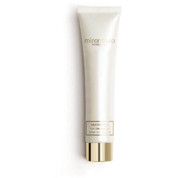 mirenesse Power Lift Multiaction 3-in-1 Silk Cleanser 60g