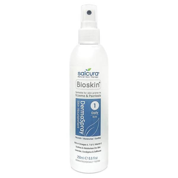 Tratamiento en espray diario Bioskin Dermaspray de Salcura (250 ml)