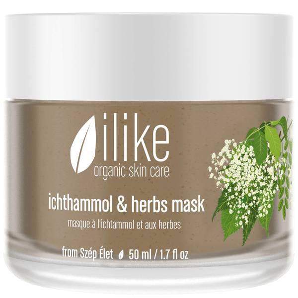 ilike organic skin care Ichthammol & Herbs Mask