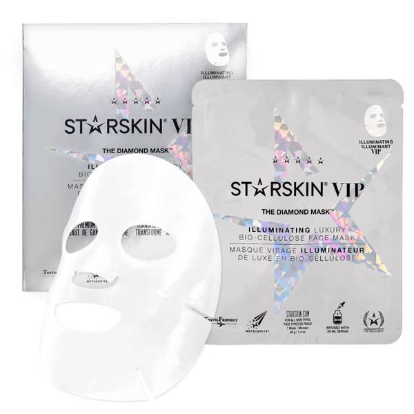 스타스킨 더 다이아몬드 마스크™ VIP 일루미네이팅 코코넛 바이오 셀룰로스 세컨드 스킨 페이스 마스크