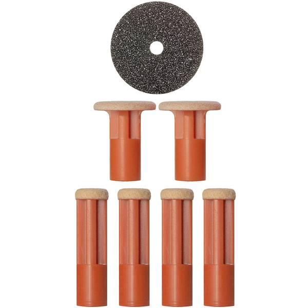 PMD Orange Coarse Replacement Discs (6 piece)