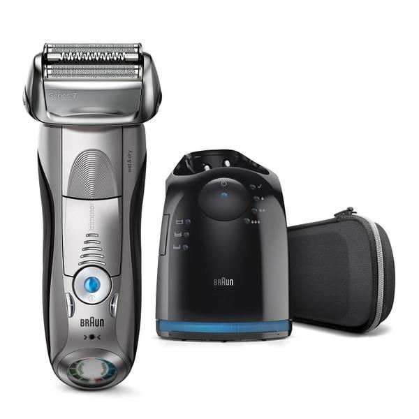 Rasoir électrique Braun Series 7 7898Cc Technologie Wet & Dry