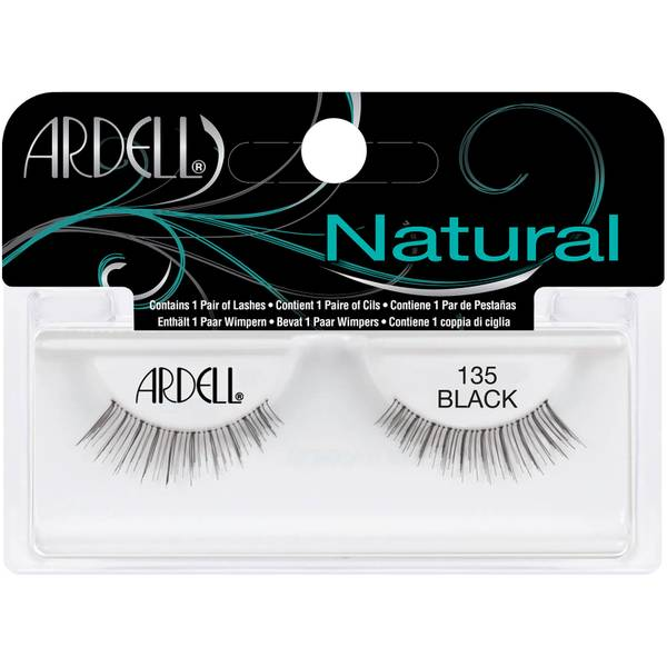 Ardell Glamour #135 Black Lashes