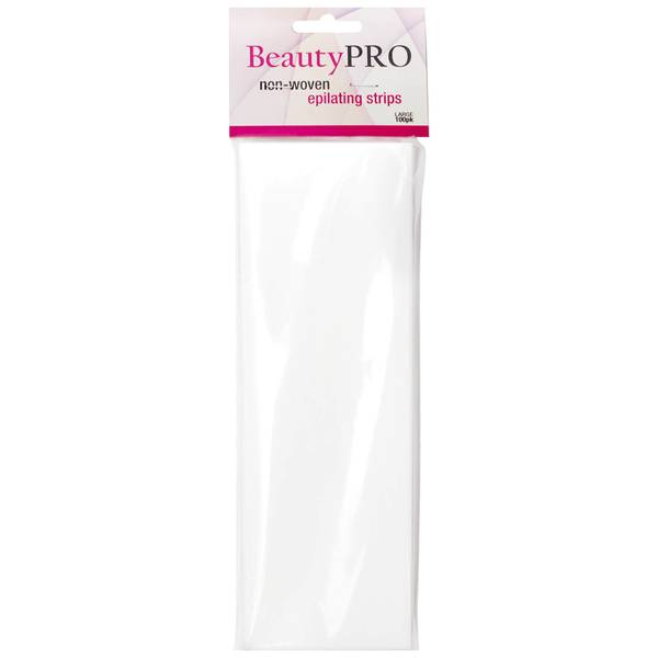 BeautyPro Non Woven Wax Strips Large
