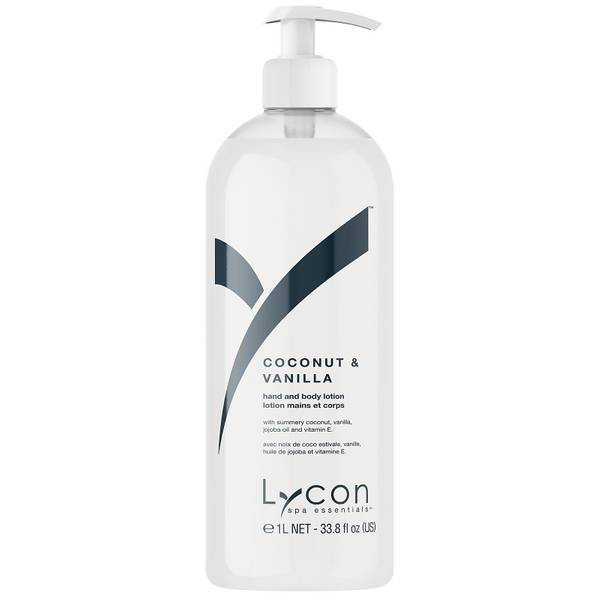Lycon Coconut And Vanilla Hand And Body Lotion 1l
