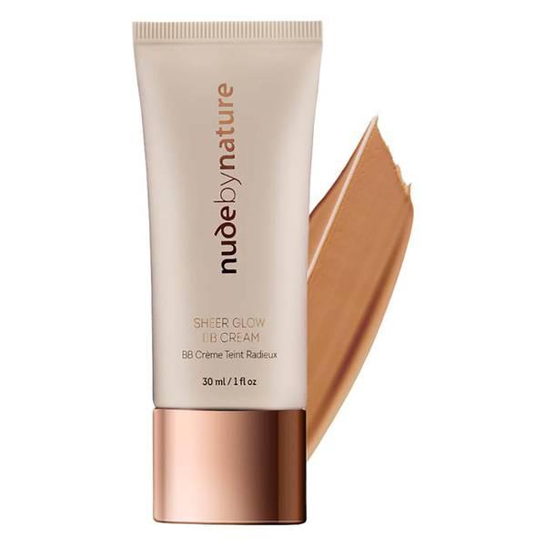 nude by nature Sheer Glow BB Cream - 05 Golden Tan 30ml
