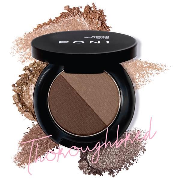 PONi Cosmetics Duo Brow Powder - Thoroughbred