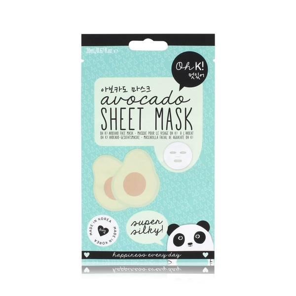 Oh K! Avocado Sheet Mask(Oh K! 아보카도 시트 마스크 23ml)