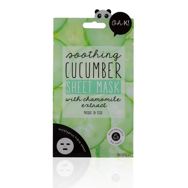 Oh K! Cucumber Sheet Mask(Oh K! 큐컴버 시트 마스크 23ml)