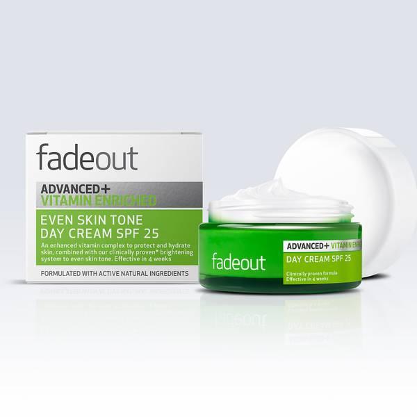 Fade Out ADVANCED + Vitamin Enriched Even Skin Tone Day Cream SPF 25 50ml