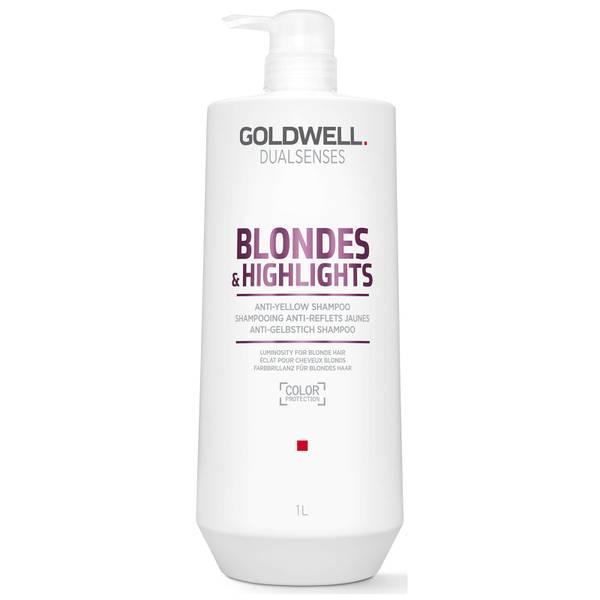 Goldwell Dualsenses Blonde and Highlights Anti-Yellow Shampoo 1000ml