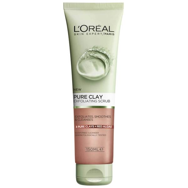 L'Oréal Paris Pure Clay Red Algae Exfoliating Scrub 150ml