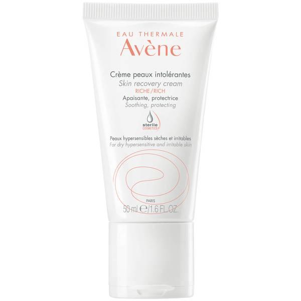 Avène Rich Skin Recovery Cream Moisturiser for Very Sensitive Skin 50ml