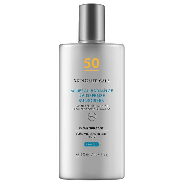 Protetor Solar Mineral Radiance UV Defense com FPS 50 da SkinCeuticals 50 ml