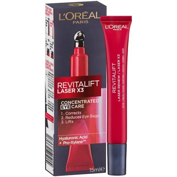 L'Oréal Paris Revitalift Laser X3 Anti-Ageing Power Eye Cream 15ml