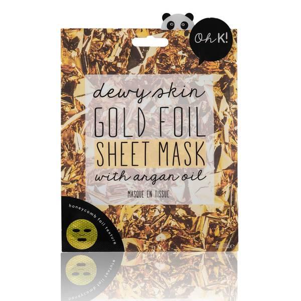 Oh K! Gold Foil Sheet Mask(Oh K! 골드 호일 시트 마스크 24ml)