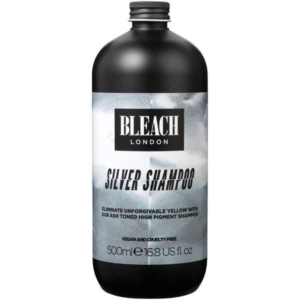 Оттеночный шампунь BLEACH LONDON Silver Shampoo 500 мл