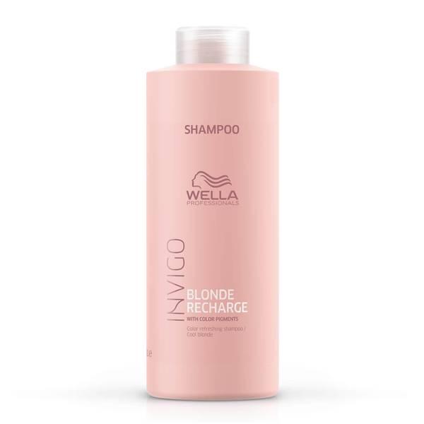 Wella Professionals Care INVIGO Blonde Recharge Color Refreshing Shampoo - Cool Blonde 1000ml