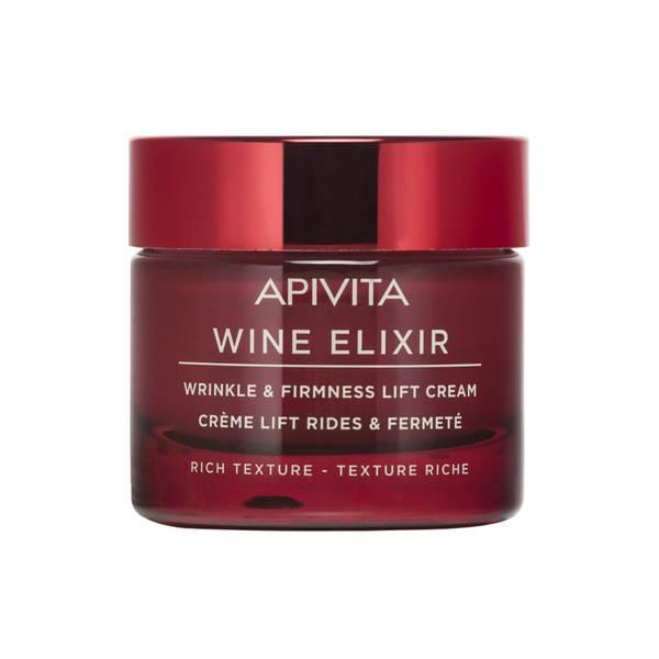 APIVITA Wine Elixir Wrinkle & Firmness Lift Cream - Rich Texture 50ml