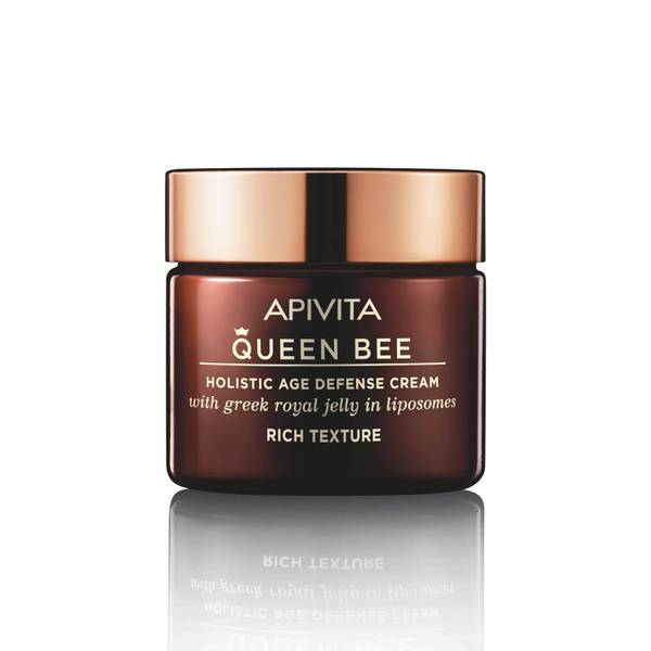 Crema antienvejecimiento holística Queen Bee de APIVITA - Crema enriquecida 50 ml