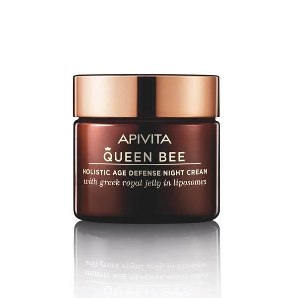 Crema de noche antienvejecimiento holística Queen Bee de APIVITA 50 ml