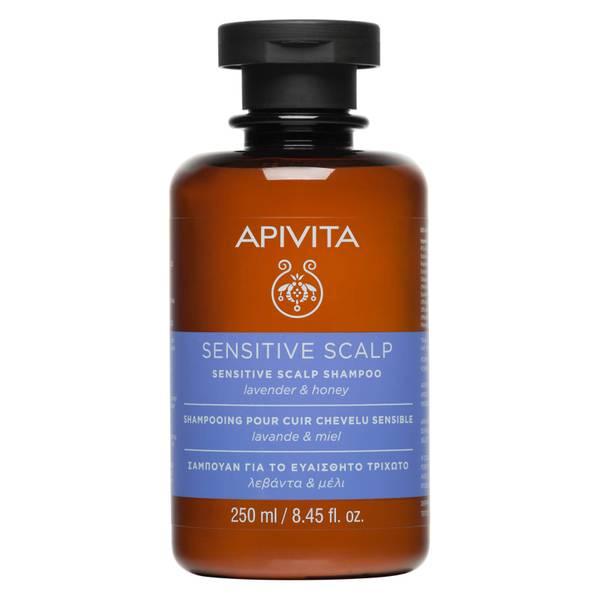 Shampooing Cuir Chevelu Sensible APIVITA 250ml – Lavande et miel
